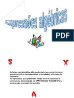Expressoes Algebricas