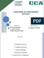Personnel et organismes sociaux-12