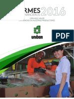 _ Informes Estados Financieros Uniban 2016