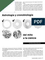 Garcia Segoviano - Astrologia Y Cronobiologia Del Mito A La Ciencia