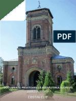 Costin CLIT, Documente privitoare la Mănăstirea Florești, județul Vaslui