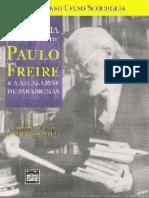 A História do Pensamento de Paulo Freire - Afonso Celso Scocuglia