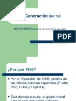 Generacion Literaria del 98