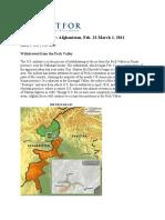 A Week in the War Afghanistan Feb 23_March 01 2011