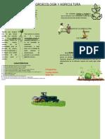 La Agricultura y Agroecologia