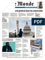 Journal Le Monde Du 10 Et Lundi 11 Janvier 2021