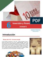 Unidad 6. Inversiónyfinanciación FAG Ppt