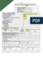 Ejemplo - Formato Beneficiario Final