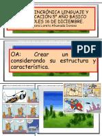 CLASE ASINCRÓNICA LENGUAJE Y COMUNICACIÓN 5° AÑO miercoles 16 de dic