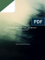 Villar - PAISAJES DE LO EFÍMERO. PROYECTO FOTOGRÁFICO