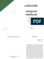 LAROUSSE DICTIONAR PSIHOLOGIE PT. CAUTARE