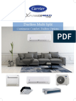 Ficha Tecnica Multisplit X Power