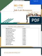 English Lab Resources