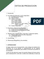 TEMA COSTOS DE PRODUCCION