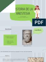Historia de La Anestesiaaaaaa