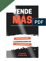 VENDE MÁS - ANUOR AGUILAR - 2020 Libro