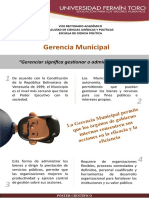 Póster Gerencia Municipal