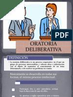 LA ORATORIA DELIBERATIVA