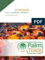RSPO PalmTrace CB Area Training Manual