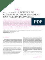 el TLCAN Y LA POLITICA DEL COMERCIO EXTERIOR