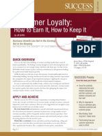 Customer Loyalty Summary