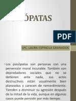 PSICÓPATAS Y ASESINOS EN SERIE 202020
