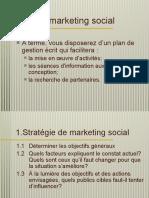 Plan marketing social
