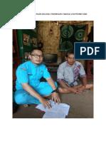 KUNJUNGAN RUMAH PASEN ODGJ DESA TENJONAGARA TANGGAL 16 SEPTEMBER 2020