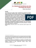 Cotas raciais e disputas de narrativas - por uma sociologia das marcas - Wallace Cabral Ribeiro