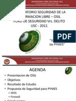 Ciro Dussan Sowftware Libre Al Servicio de La Seguridad de Las Pymes