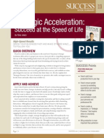 Strategic Acceleration Summary