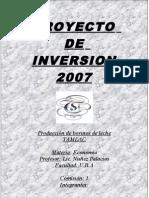 Economia-Modelo d Proyecto Web 2010