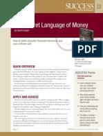 The Secret Language of Money Summary