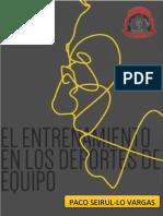 Libro El Entrenamiento en Los Deportes de Equipo Paco Seurul Lo