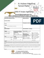 2011 SAWFM Vendor Application