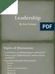 Leadership Power Point