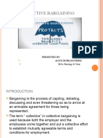 COLLECTIVE BARGAINING PPT