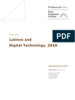 Latinos and Digital Technology
