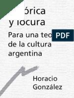 Gonzalez Horacio - Retorica Y Locura [PDF]