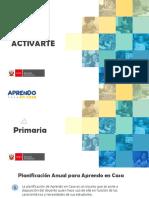 PLANIFICACION-Activarte-Primaria