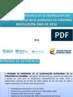 4. Presentación Resolución 2465 - 16 Patrones de Crecimiento