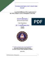 Kavita Bhansali-05-Hedging performance