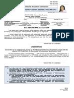 PRC ID Renewal