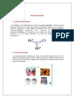 Lucia Zarate Desarrollo Actividad de Quimica  Investigativa sobre Acetonas