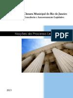 Apostila CAL-CMRJ - Noções de Processo Legislativo - 2021