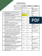 Calendario Electoral 2011