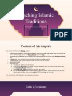 Teaching Islamic Traditions by Slidesgo