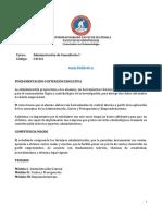 Guía Administración de Consultorio I 2021 completa