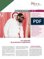 ed98 - Appareil de protection respiratoire