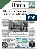 La Repubblica Roma 20 Marzo 2021